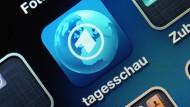 """Mit umfangreichem Textangebot: Die """"Tagesschau""""-App"""