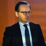 Heiko Maas auf dem Weg zur wöchentlichen Kabinettssitzung im Kanzleramt.