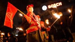IG Metall hat in der Nacht mit Warnstreiks begonnen