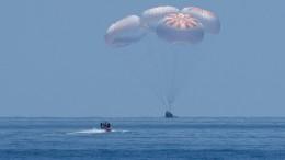 SpaceX-Crew erfolgreich gelandet