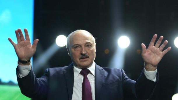 EU bringt Sanktionen gegen Lukaschenko auf den Weg