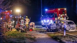 Unfall mit fünf Toten – Fahrer wich Radaranlage aus