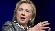 Hillary Clinton nutzte privates E-Mail-Konto für Regierungsaufgaben
