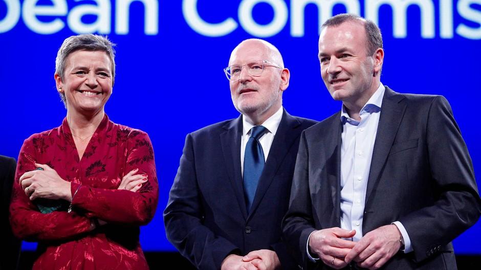 Die Favoriten für den Posten des EU-Kommissionschefs