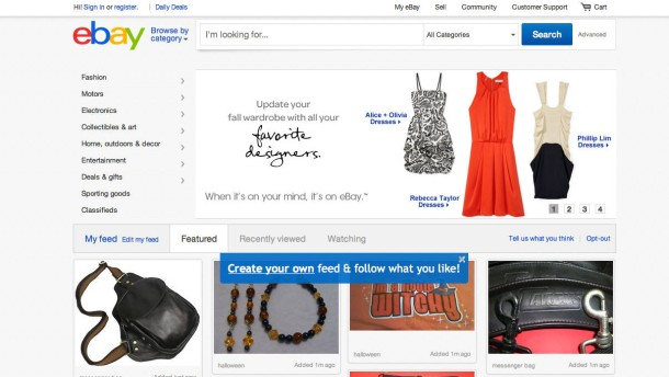 EBay-Redesign