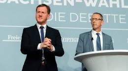 AfD will Kretschmers CDU Druck machen