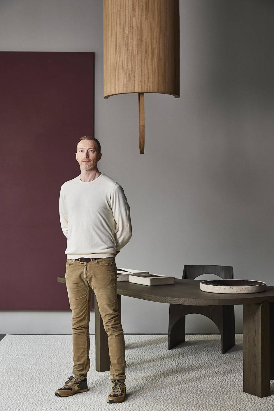 Autodidakt: Christophe Delcourt kam als Quereinsteiger zum Beruf des Designers.