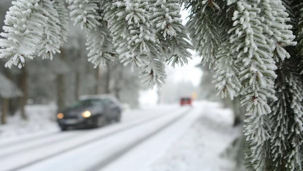 In Nordrhein-Westfalen setzt der Eisregen ein