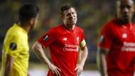 Liverpool leidet ganz spät