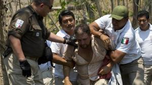 Mexikanische Polizei nimmt Hunderte Migranten fest