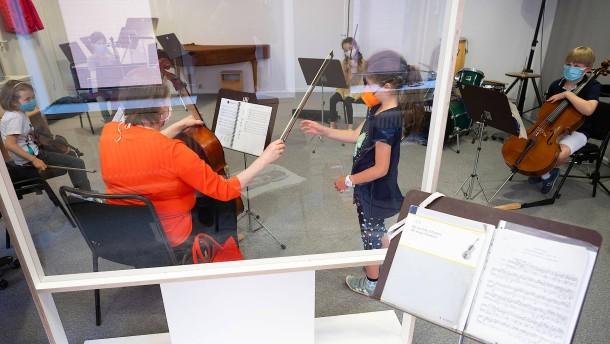 Quintett statt Orchester