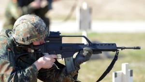 Sturmgewehr G36 hat in der Bundeswehr keine Zukunft