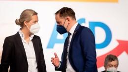 Weidel will mit Chrupalla AfD-Spitzenteam bilden