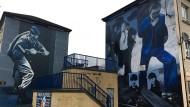 Jeder weiß eine Geschichte zu erzählen: In der Bogside in Derry eskalierte die Gewalt am Bloody Sunday 1972.