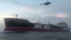 Iran veröffentlicht Aufnahmen der Beschlagnahme des Tankers
