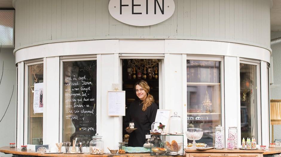 """Elke Löscher, die am Frankfurter Anlagenring das beliebte Café Fein betreibt, hat im Gutleutviertel das Restaurant """"Momi"""" eröffnet."""