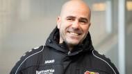 Zur Rückrunde übernimmt Peter Bosz Bayer Leverkusen.