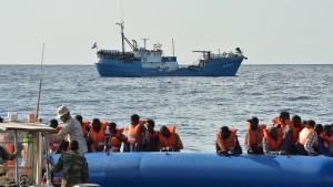 In Italien kommen immer weniger Flüchtlinge an