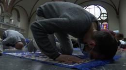 Ende des Ramadan findet in evangelischer Kirche statt