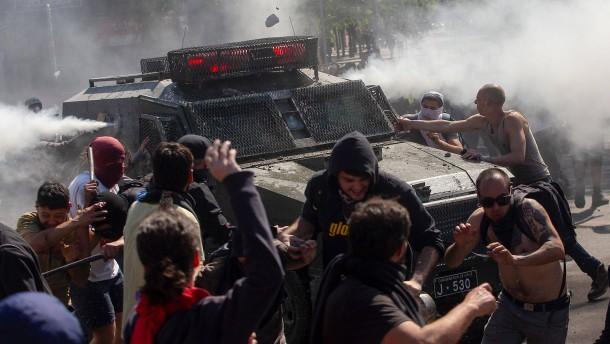 Mehrere Tote nach Protesten in Chile