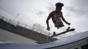 Rappen, skaten, surfen