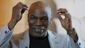 Marihuana-Bauer Mike Tyson hat großen Eigenbedarf