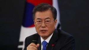 Südkoreas Präsident bereit zu Treffen mit Kim Jong-un
