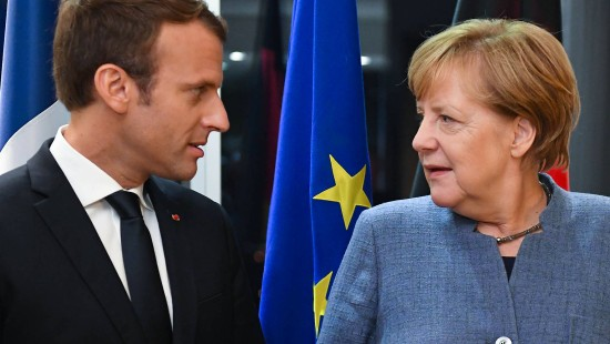 Merkel stellt sich für EU-Reform an Macrons Seite