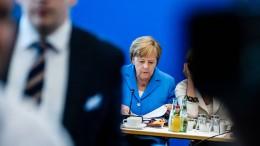 CDU steht geschlossen hinter Merkel