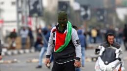 Ausschreitungen zwischen Palästinensern und Israelis