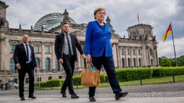 Merkel warnt vor Rückfall in alte Denkmuster