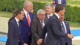 Aufregung wegen Junckers Gesundheitszustand