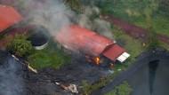 Lava brennt erstes Haus auf Hawaii nieder