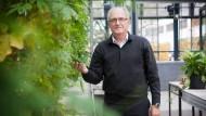 Mit Bittergurken: Gerhard Rechkemmer, 64, ist Präsident des Max-Rubner-Instituts, das Bundesforschungsinstitut für Ernährung und Lebensmittel in Karlsruhe.