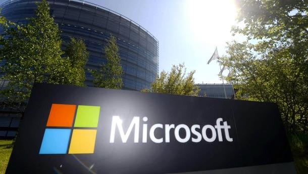 Microsoft feiert seine Cloud-Dienste
