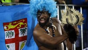 Fidschi spielt verrückt