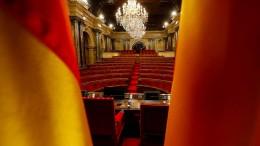 Katalanisches Parlament will über Unabhängigkeit debattieren