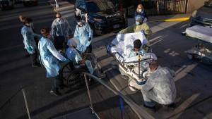 New York hat aktuell die meisten Infizierten weltweit