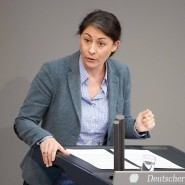 Filiz Polat ist Sprecherin der Grünen für Migrationspolitik im Bundestag. (Archivbild)