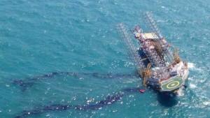 Unfall auf Ölplattform im Golf von Mexiko