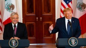 """Trump feiert Handelsabkommen als """"historischen Sieg"""""""