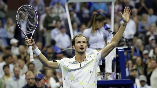 Medwedew fordert im Finale Nadal