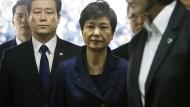 Südkoreas Ex-Präsidentin muss in U-Haft