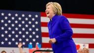 Clinton hat es geschafft
