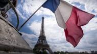Am Sonntag entscheiden die Franzosen, wer in die Stichwahl für den Elysée-Palast kommt.