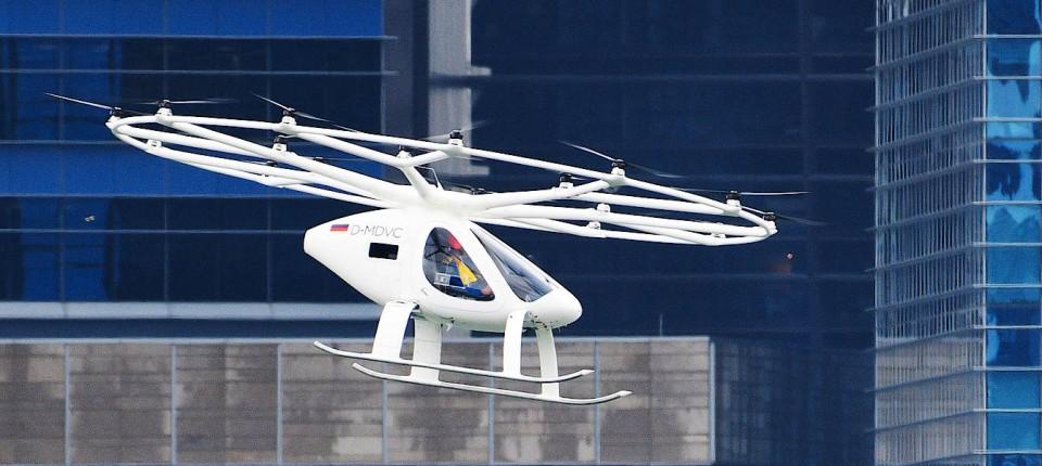 Soll Teil einer neuen Dimension der Luftfahrt werden: Das Flugtaxi