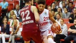 Bayern gewinnen das erste Halbfinale gegen Bamberg