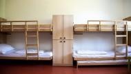 Das ist sonst anders: In der Herberge bleiben die Betten leer.