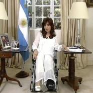 Fernsehansprache von Cristina Kirchner am Montagabend