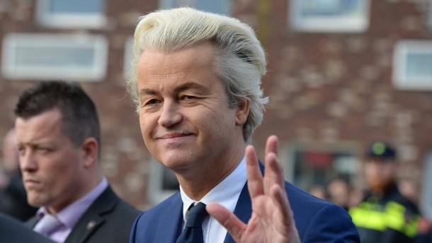 """Wilders: """"Wir haben dieser Wahl unseren Stempel aufgedrückt"""""""